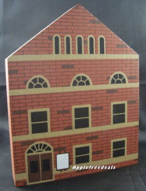 THE CAT'S MEOW VILLAGE 1985 SERIES III OPERA HOUSE BUILDING
