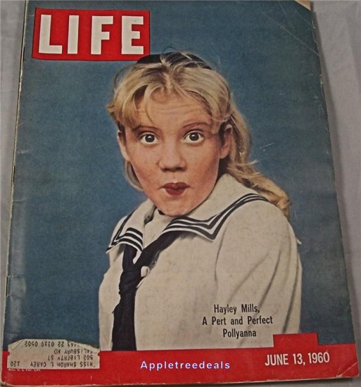 Life Magazine June 13 1960 Haley Mills Polyanna Broadway Auto