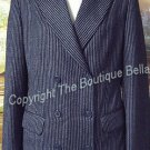 SIZE 6 -  Ladies Trendy Striped Italian Jacket Blazer 6 40