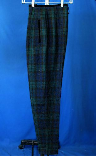 ESCADA Margarel Ley FALL Plaid Lean Pants slacks 36 4