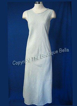SIZE SM - 4 Gap Green Ivory Gingham Long  dress size sm med