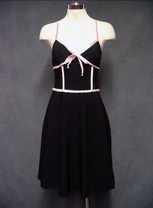 SIZE 2-3-5 MACYS NEW Le Belle Black Pink Girly Party Dress