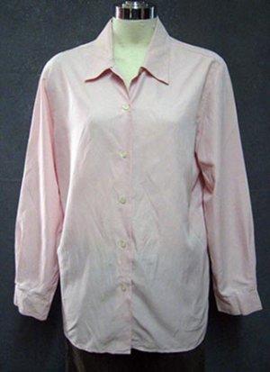 Size Med Pet: SPRING Claiborne Baby Pink Shirt Top