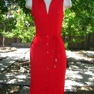 Size 4-6 SLINKY LITTLE RED COCKTAIL DRESS