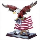 FLAG FLYING EAGLE FIGURINE