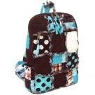 Patchwork Rag Backpack, Patchwork Backpack, Cotton
