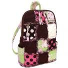 Patchwork Rag Backpack, Patchwork Backpack, Cotton