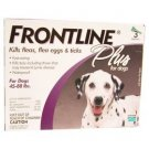 Frontline Plus For Dogs 45-89lbs Purple 3 month Box