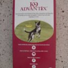 K9 Advantix, Flea/Tick/Mosquito 21-55lbs, 6 Months, New