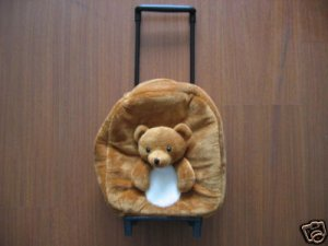 Bear Bookbag, Teddy Bear Luggage, Bear Bag