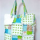 Patchwork Quilt Purse, Patchwork Rag Tote, Rag Purse