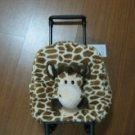 Lot of 20 Kids, Toddler Bag w/Wheels, Giraffe Bag,Plush