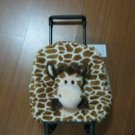 Giraffe Lover Gift, Giraffe Bag, Rolling Giraffe Plush