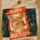 Montgomery Ward Rudolph bag & gift box