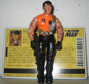 G.I. Joe 2004 Night Force Action Man