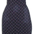 Sundress Black & Purple Dots Rockibilly Sz. M