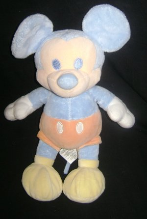 DISNEY STORE EXCLUSIVE MICKEY MOUSE CUDDLE PASTEL