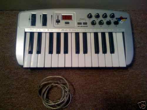 M-Audio Keyboard MIDI Controller