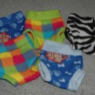 Fleece Diaper Covers - Medium