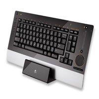 Logitech (967685-0215) diNovo Edge Bluetooth Wireless Keyboard USB