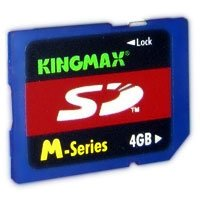 Kingmax 4 GB Secure Digital