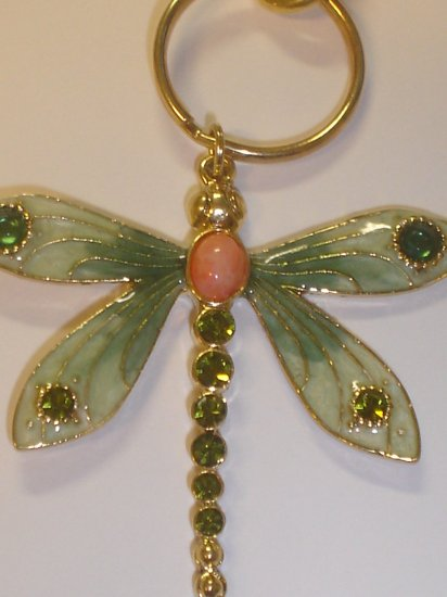 New Artisian Dragonfly Keychain / Bagcharm