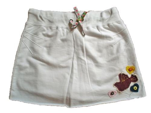 L.A. Kitty little Bird Yoga Skort Skirt/Shorts Girls 12