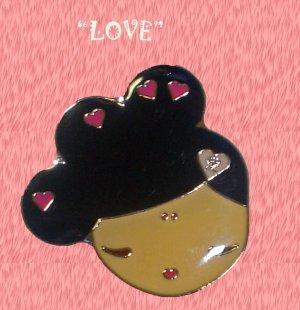 "Gwen Stefani HARAJUKU LOVERS Charm Necklace ""LOVE"" 16"""