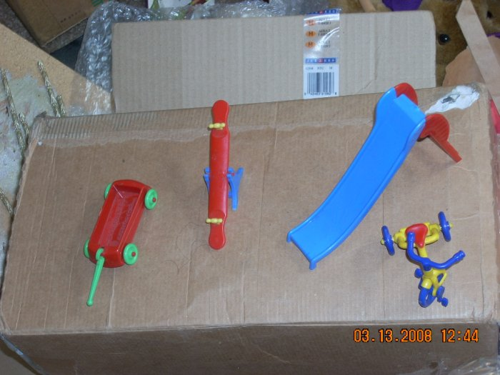 lot of renwal playground toys #2