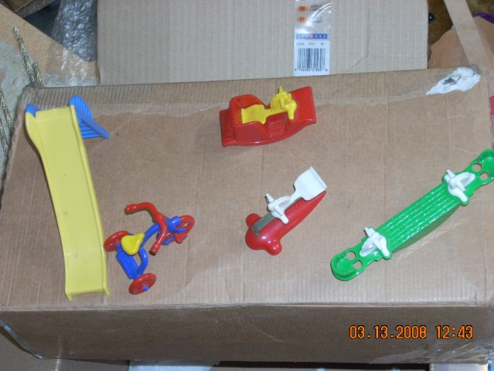 lot of renwal playground toys