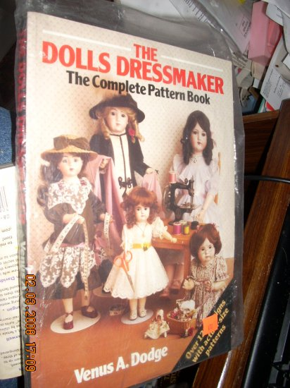 the dolls dressmaker book  lots of patterns!!!