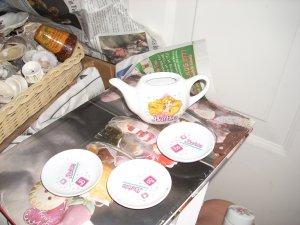 barbie tea set pieces