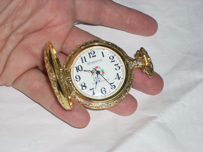 remington pocket watch