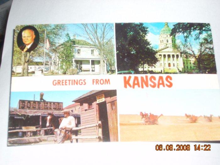 kansas post card colourpicture