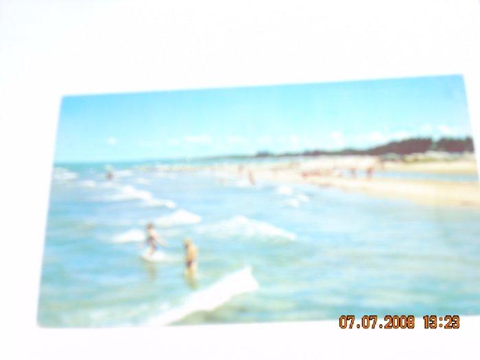 california beach scene