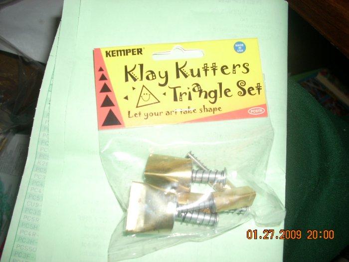kemper triangle pattern cutter set