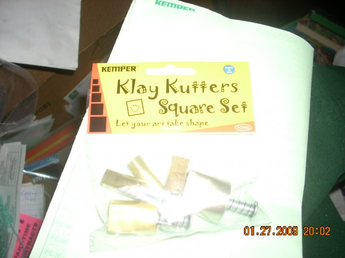 kemper square pattern cutter set