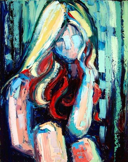 Sweet Jane - 22x28 Original Oil on Canvas