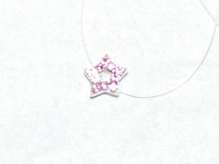 New Pretty illusion Anklet Pink Rhinestone Star Jewelry � Beautiful Sparkly Sexy � Just7even �