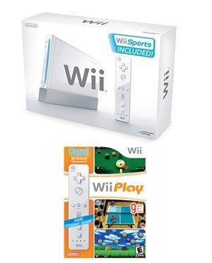 Nintendo Wii Fun Bundle - With 14 Great Games and Extra Wii Remote