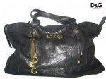 Black leather D&G handbag