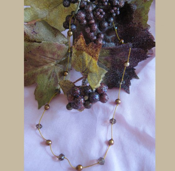 Goddess Anu, Mother's Bounty semi precious stone necklace