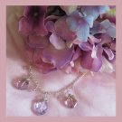 Victorian Sweet Amytrine Romance hand made semi precious stone Necklace