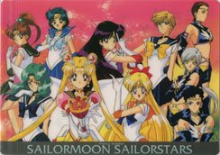 Sailor Moon Stars shitajiki/ pencil board