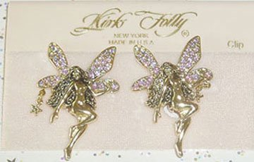 Kirks Folly earring ~ Fairies