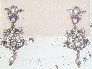 Kirks Folly victorian earrings in bronze