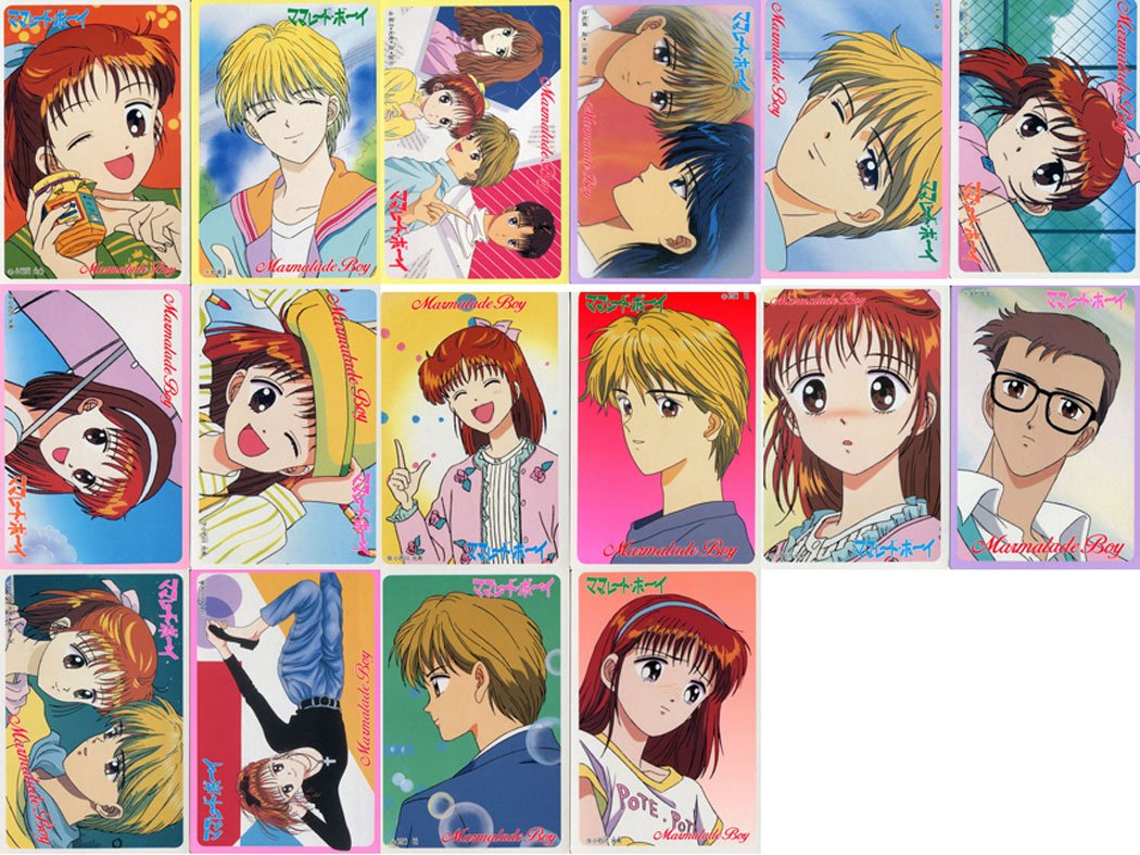 Marmalade Boy DX card set (Complete regs)