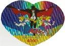 Heart Ribbon SMR #9 prism
