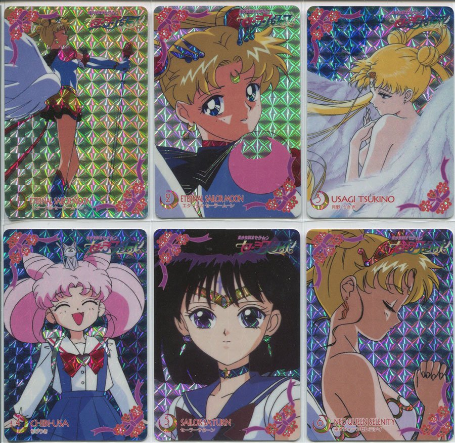 Banpresto Sailor Moon Sailor Stars Prism set