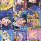 Sailor Moon R regs set (1993 Banpresto)